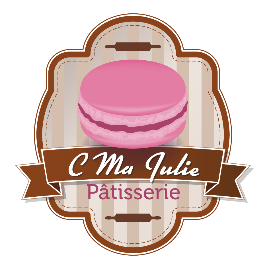 Logo - C Ma Julie Patisserie - Couleur